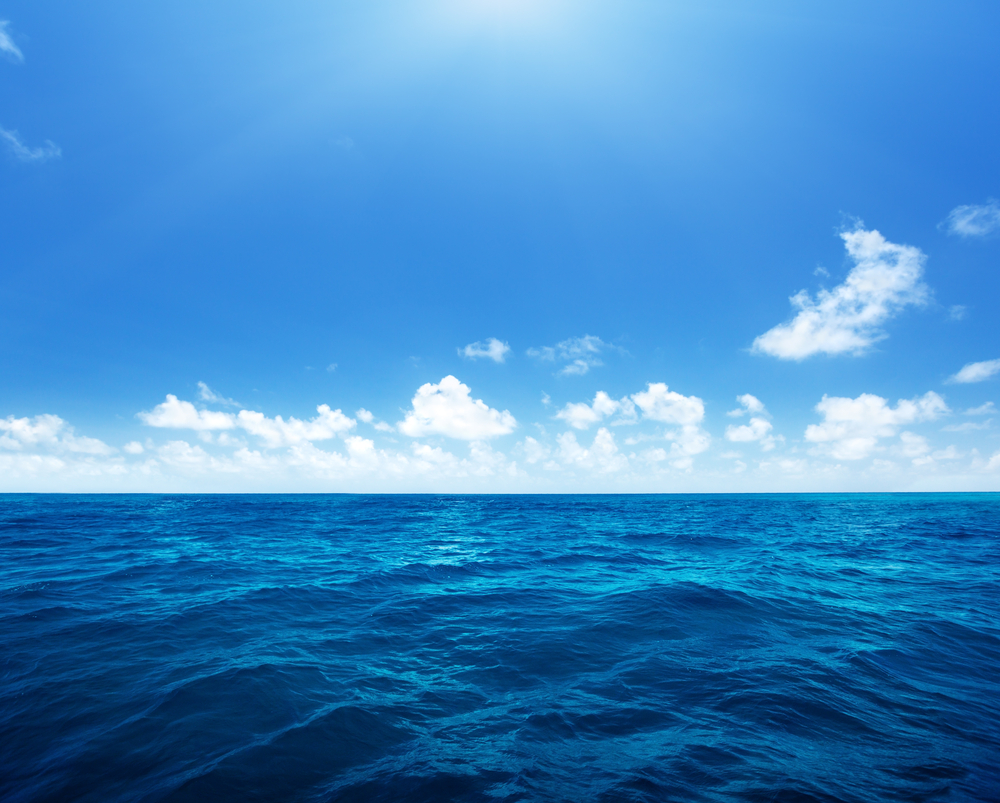 perfect sky and water of indian ocean-1