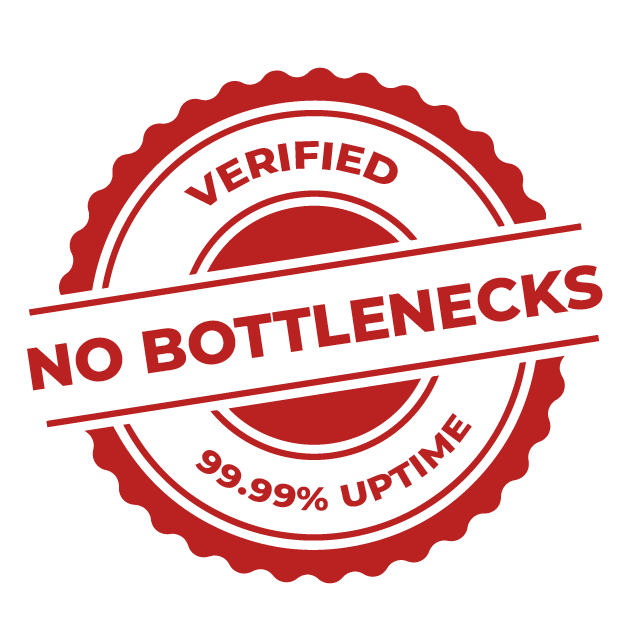 Verified No Bottlenecks